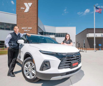 Here's how you can enter to win a Chevy Blazer and support the Lake County YMCA