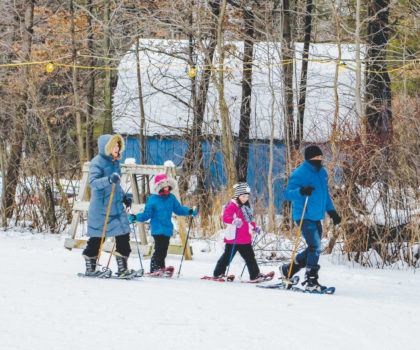 Discover your outdoor winter passion at Lake Metroparks