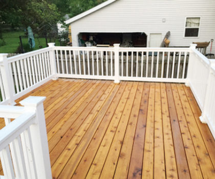 Spring clean your deck