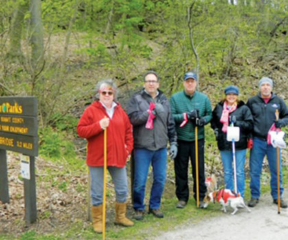 The annual walk to support Stewart's Caring Place has been transformed