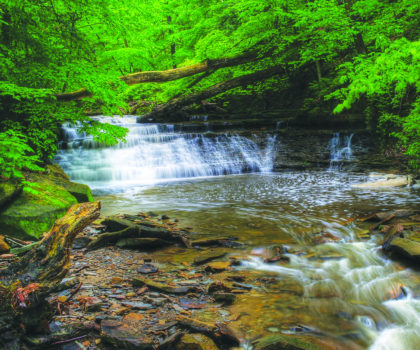 The five fave waterfalls of Lake Metroparks' Andy Avram