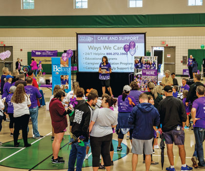 The Medina Walk to End Alzheimer's takes place on Saturday, September 21, 2019
