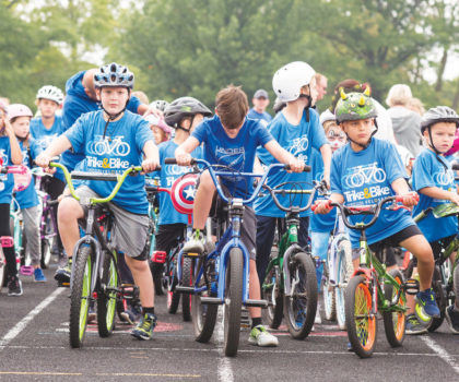 Mentor Public Schools recently hosted the VeloSano Trike & Bike