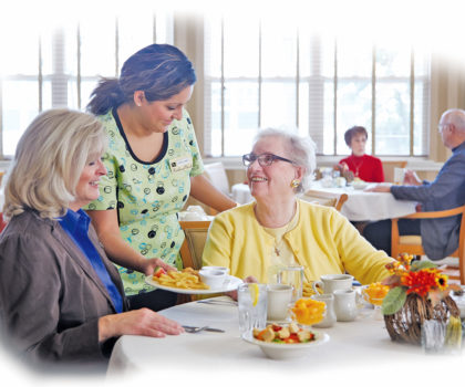 At Beachwood Commons Assisted Living, meals are times for socialization, celebration, nutritious food and a chance to broaden residents' culinary horizons