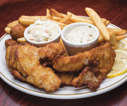 All-you-can-eat Lenten fish fry at Mr. G's Pizzeria & Wings
