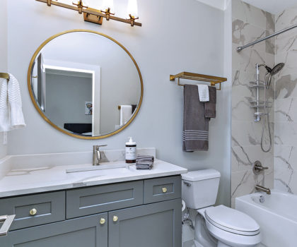 Innovative, creative and resourceful bathroom transformations are possible with Acclaim Renovations & Design