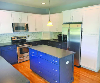 Cabinet refinishing by Neubert Painting can save a homeowner thousands of dollars off the cost of refacing or replacement