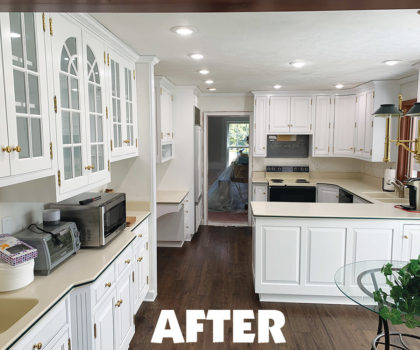 Neubert Painting's exclusive factory-finish process means your kitchen cabinets can sport a fresh, new look