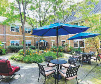 The residents of Symphony at Olmsted Falls have enjoyed an unprecedented shelter-in-place experience