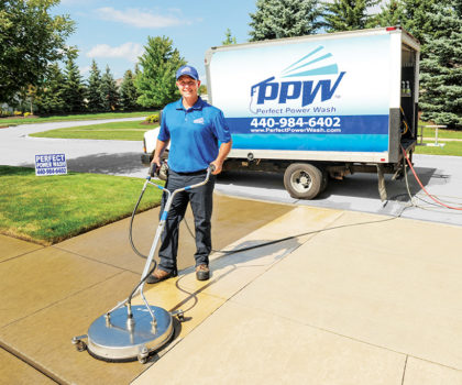 Michael Palubiak, owner of Perfect Power Wash, and his team are nationally recognized experts in the concrete cleaning & sealing business for over 18 years