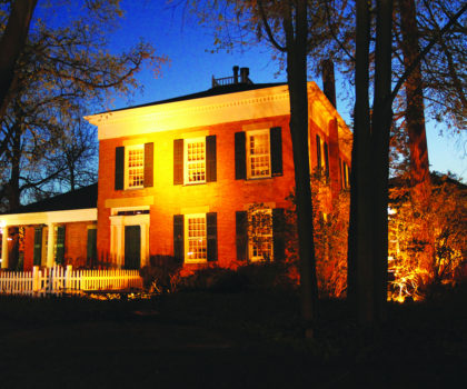 Don's Pomeroy House offers an innovative menu in an environment packed with historic charm