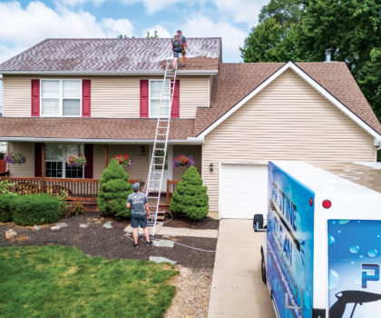 Add 5-15 years to the life of your roof with an environmentally safe Roof Renew application from Pristine Clean