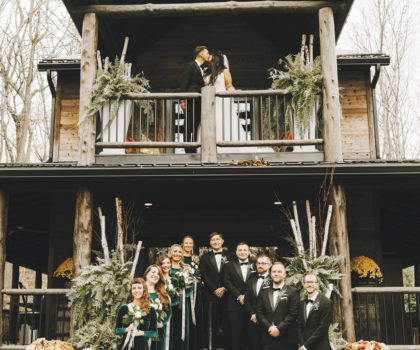 Columbia Woodlands' Instagram-worthy setting in Dover delivers rustic elegance and sets the stage for a destination wedding within reach