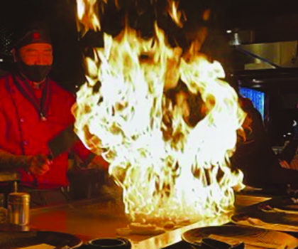 Shinto brings an authentic Japanese hibachi  experience to Westlake