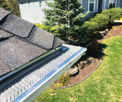 The raised S-curve: Not all micro-mesh gutter covers are  the same