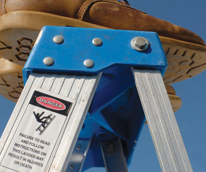 Here's how to keep your gutters flowing free—without the risk