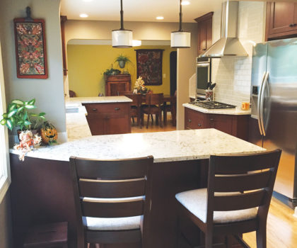 Here's why Kelly K. chose Tamer Construction to update the hub of her home