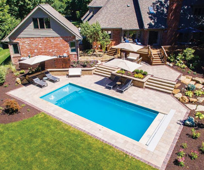 Planning for a pool? Here's what you need to know about Imagine Pools selection and installation, from Candyapple Nursery and Landscaping