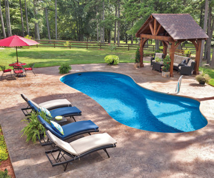 With a new pool from Candyapple Nursery and Landscaping, your yard will be the envy of the neighborhood