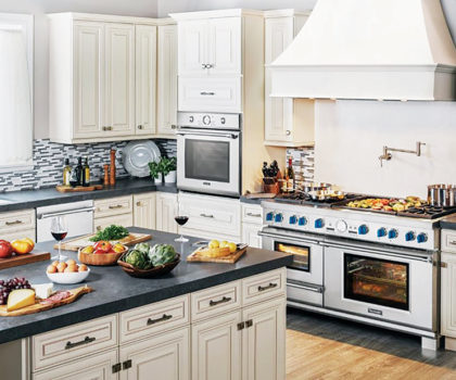 Repairing luxury brand appliances is a job for the pros at Home Appliance Sales & Service
