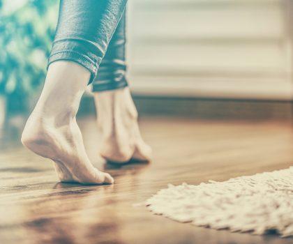 Heated floors are hot!
