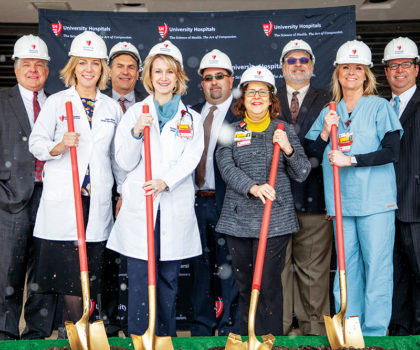 A new expansion is on a solid foundation at UH Parma Medical Center