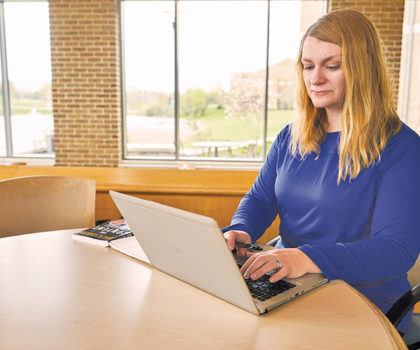 Ursuline College's accelerated degree-completion program, non-traditional students are making the grade