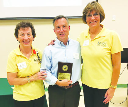 Bill Snow and the team at Rad Air of Wickliffe honored for helping to preserve the planet