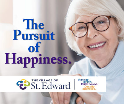 Those who love working and living at The Village of St. Edward are finding joy again in the things they love most