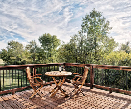Up the ante on your deck by having Chagrin Home Improvements clean and stain it right now.
