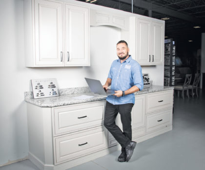 The team at Northeast Factory Direct offers one of the most stress-free kitchen remodeling experiences in the area