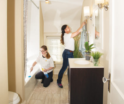 Heavenly Touch Maids can give you a sparkling clean home, free up your time to enjoy Northeast Ohio's glorious autumn, and get a jump on the holiday season