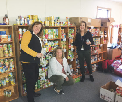 The W-E Care Food Pantry benefits students in the community