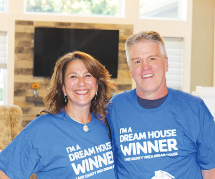 Robin Katzenstein took a chance and won the 2019 Lake County YMCA Dream House