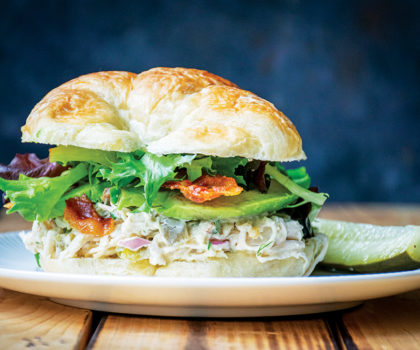 The Starving Chef Recipe: Bacon Avocado  Ranch Chicken Salad