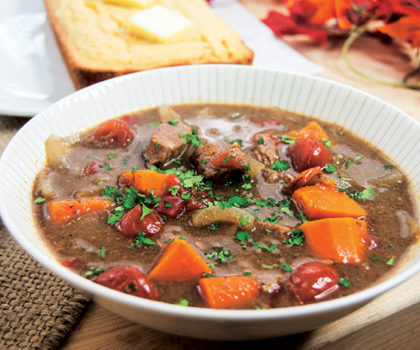 The Starving Chef Recipe: Slow Cooker Sweet Potato Beef Stew