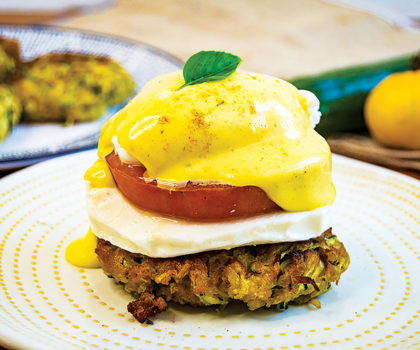The Starving Chef Recipe: Caprese Benedict