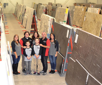 Doing one thing and doing it extremely well has made stone countertop purveyor Chippewa Stone a huge success