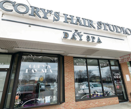 Cory's Hair Studio & Day Spa is a haven where you can go to relax and melt the stress away