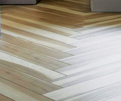 Distinctly different flooring