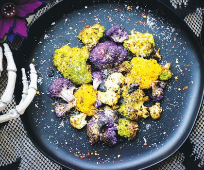 The Starving Chef Recipe: Cobwebbed Cauliflower