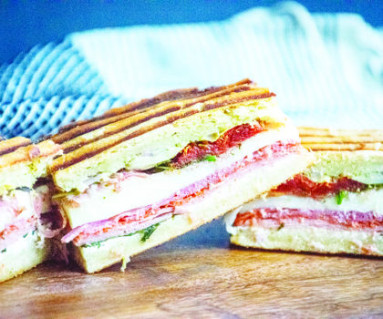 The Starving Chef Recipe: Panini Picnic Sammies