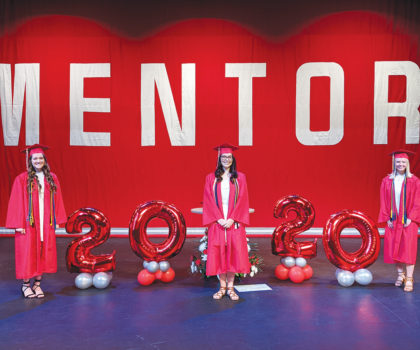 A nontraditional commencement ceremony honors the class of 2020