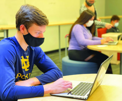 Mentor Schools met the challenges of the pandemic victoriously  and kept students connected