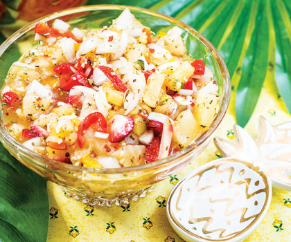 The Starving Chef Recipe: Pineapple Salsa