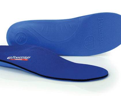 Put some extra pep in your step with orthotic insoles from  Lucky Shoes