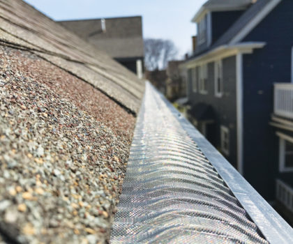 Here's how you can gutter cleaning forever with the nation's top-rated micro-mesh gutter cover