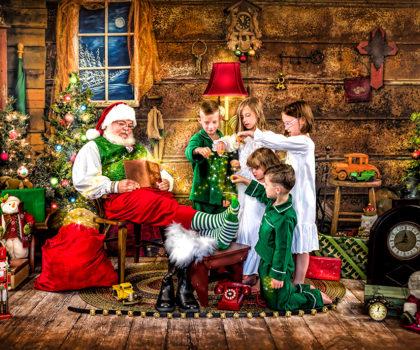 Pearson Portrait Design offers a magical Wonder of Santa fine art portrait experience