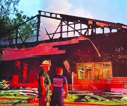 Despite a six-alarm fire on the grounds, Valleaire Golf Club hasn't missed a beat and is open for business
