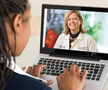A telehealth visit is an excellent option for when a physical visit with a doctor does not make sense